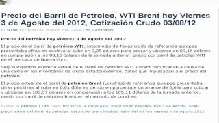 Brent WTI Spread Historical Data